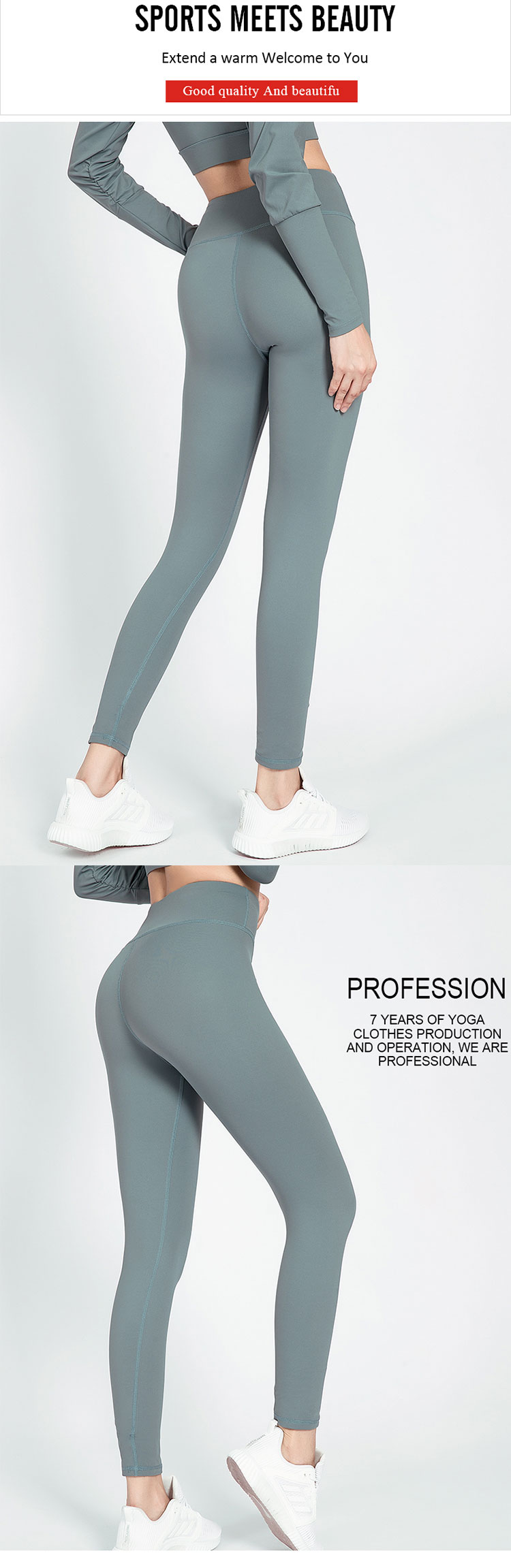 Grey-gym-leggings-makes-the-matte-more-technological-style