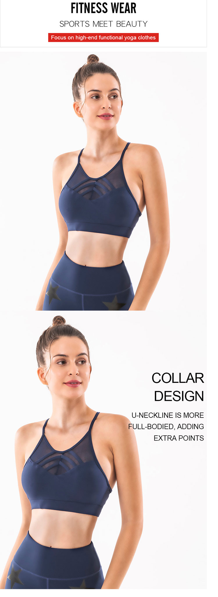 The-simple-casual-best-sports-bra-for-running--is-made-of-functional-fabrics