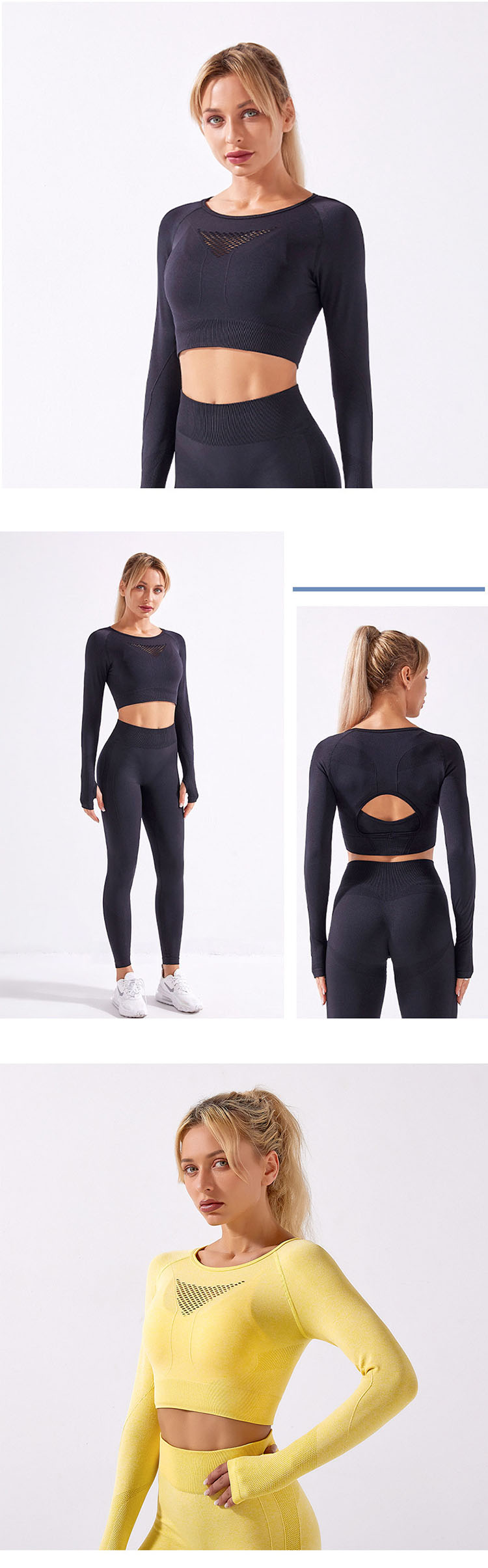 Quality we have produced yoga clothes for many big brands.