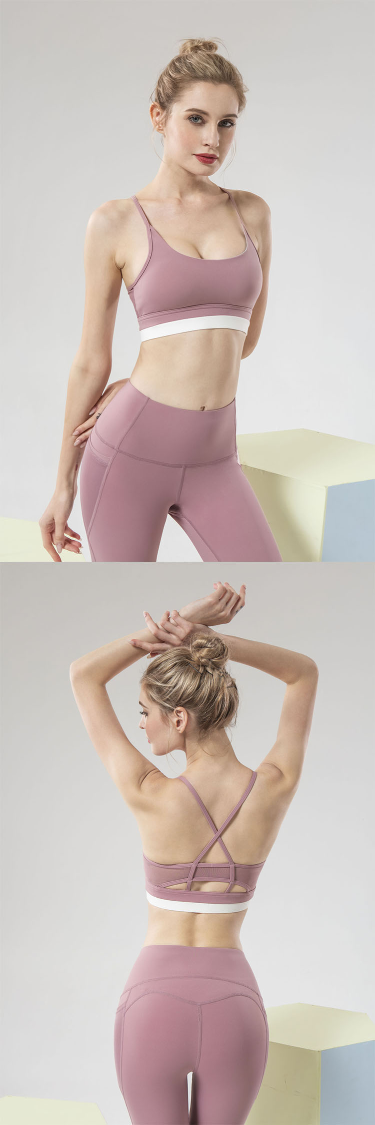 The use of high-stretch fabric brings strong comfort to the athletes.