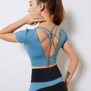 All in one yoga suit