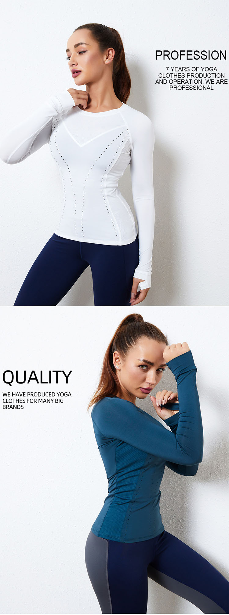 Moisture wicking, comfortable and breathable.
