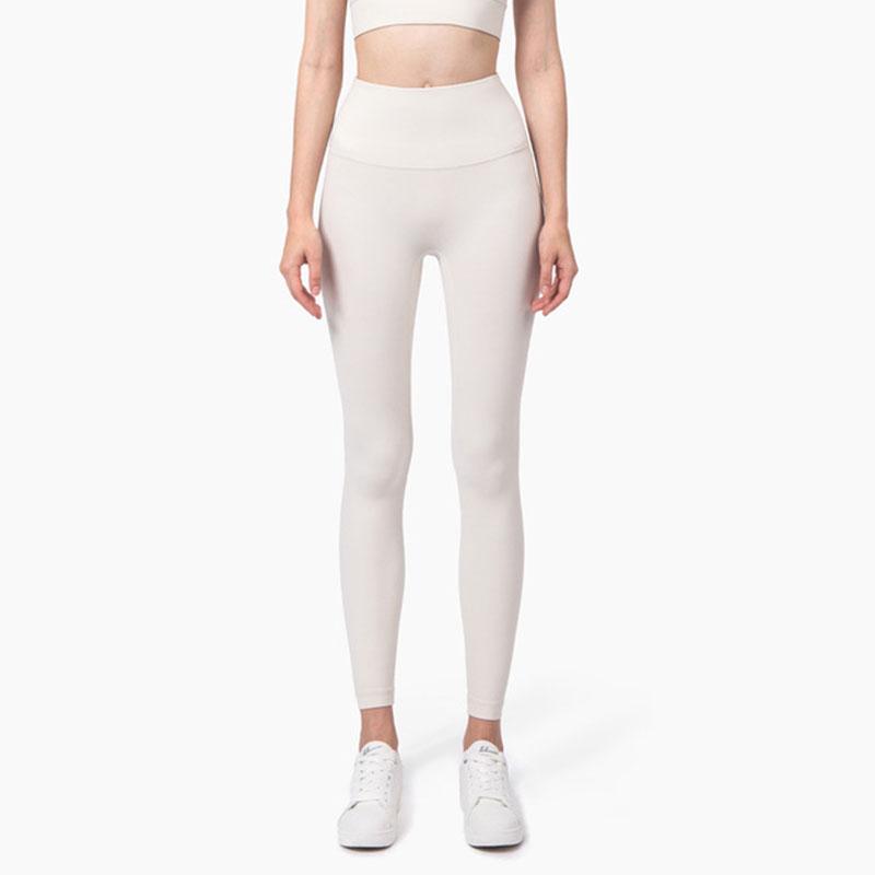 Front seam leggings