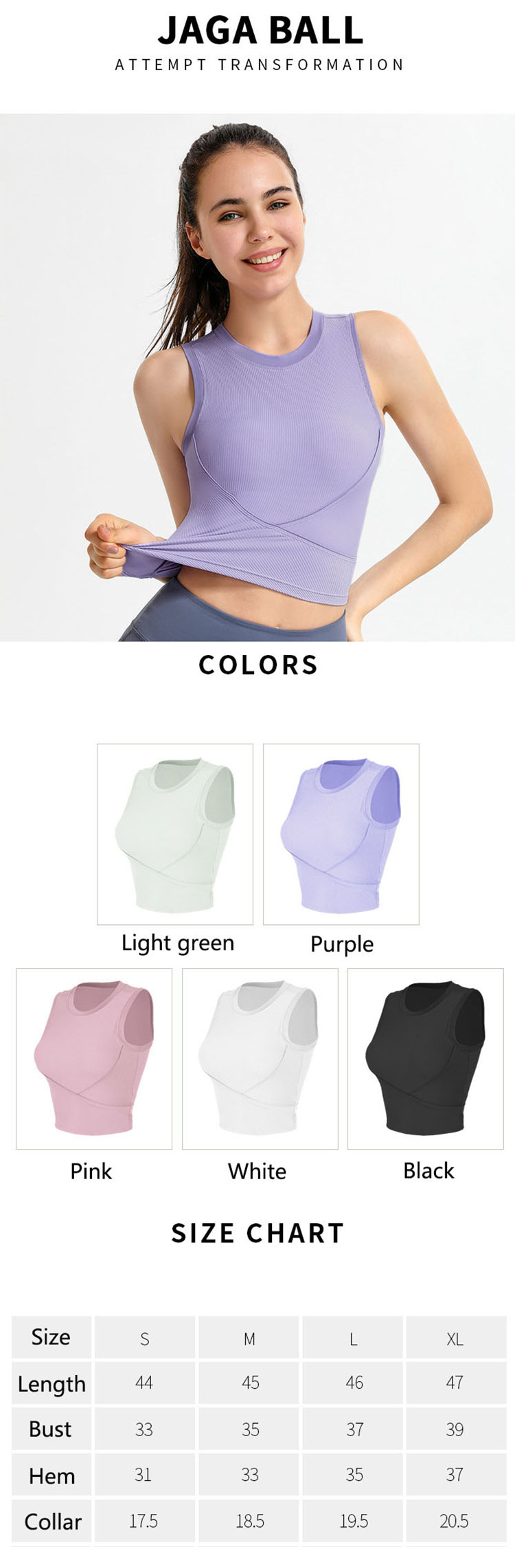 More round-neck sleeveless workout shirts on the show this season also attracted the attention of fashionable people