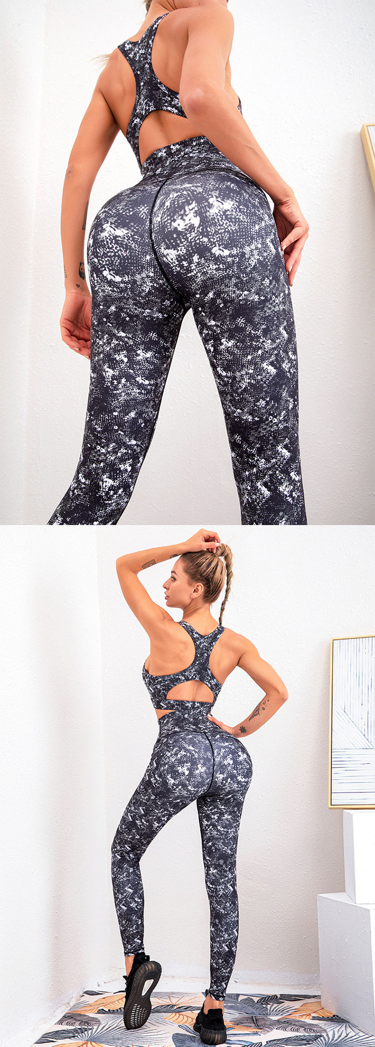 The elastic waist seal fits the waistline, which is not tight to wear, and the upper body is comfortable and stylish.