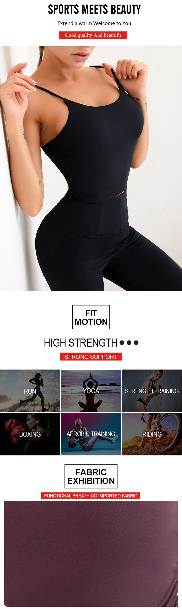 The use of structure is the top priority of tight gym pants design.