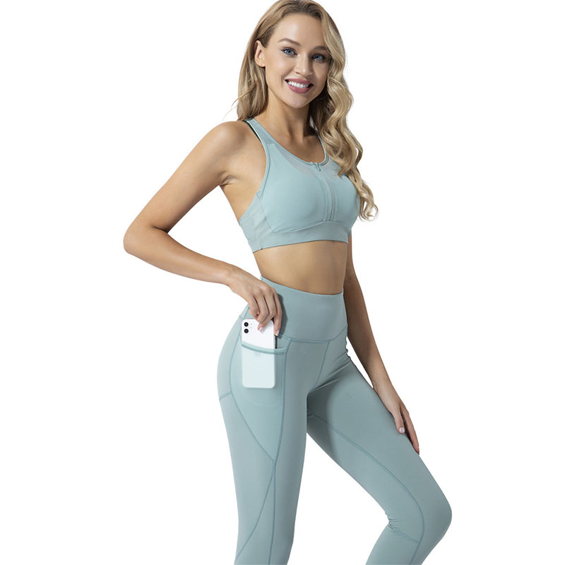 Women's workout leggings with pockets