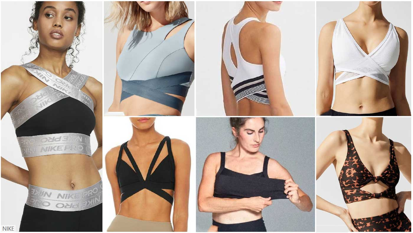 Adjustable-sports-bra-maintaining-differentiation-and-freshness