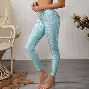 Fun print yoga pants