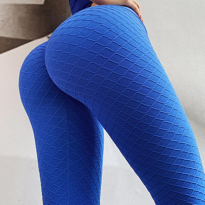 Navy blue yoga pants