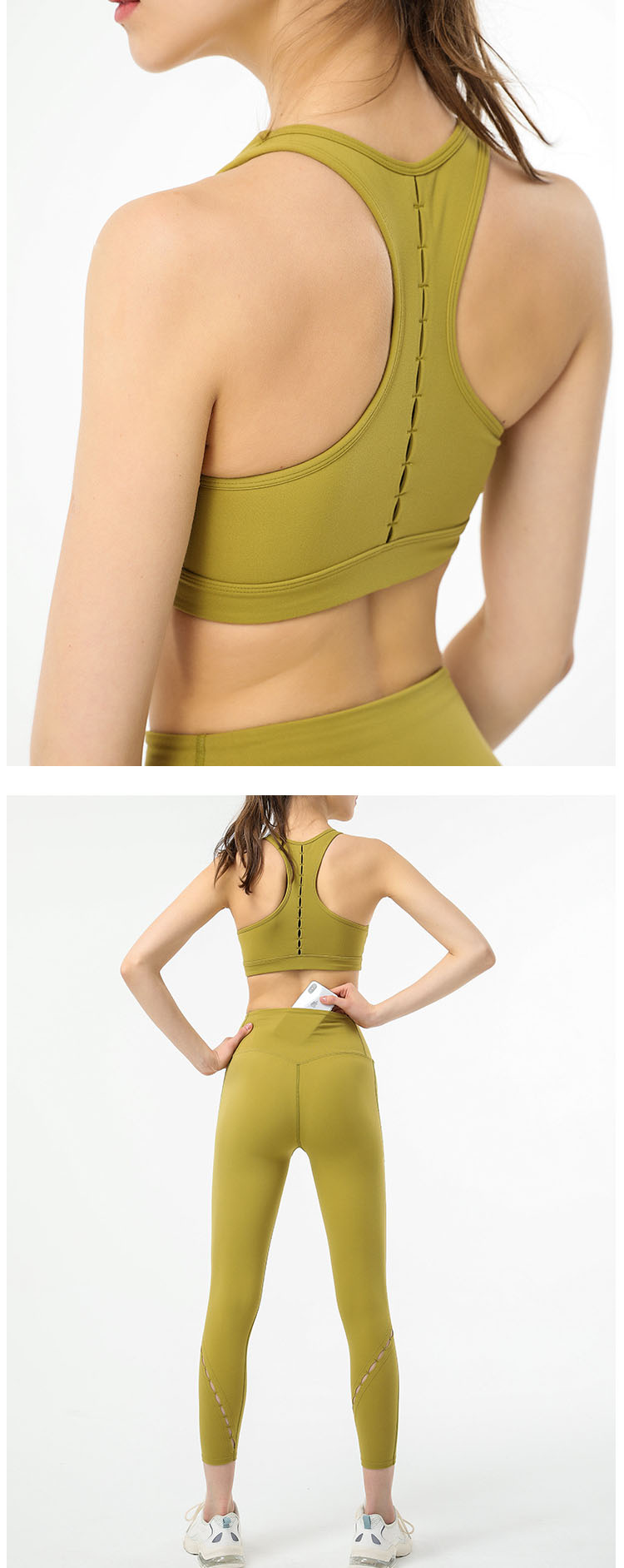 Professional sports fabrics, soft and comfortable without restraint, exercise freely.