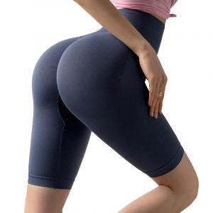 Running in yoga pants