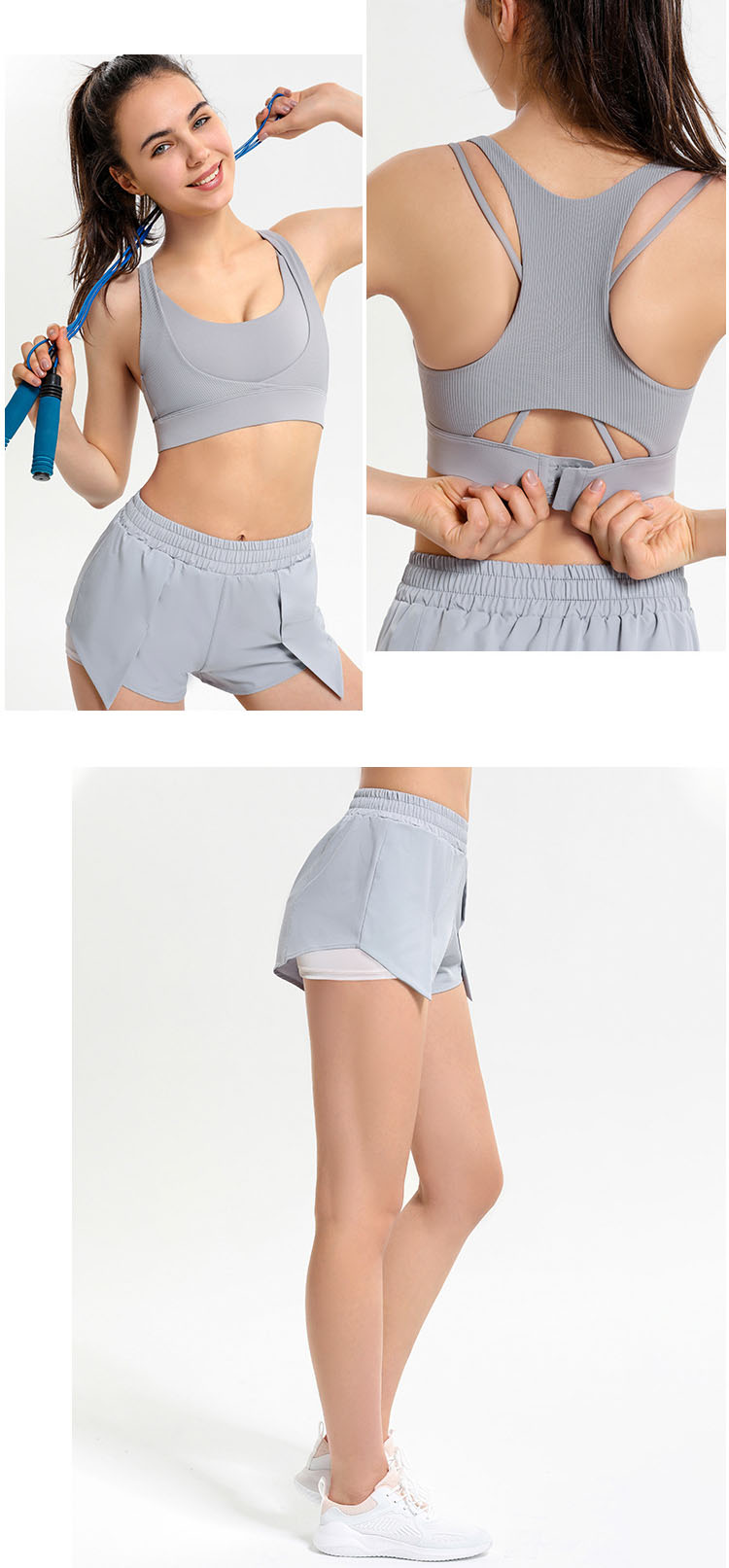Seasonally worn retro sports shorts and A-line five-point pants have become fashionable and value-for-money items.