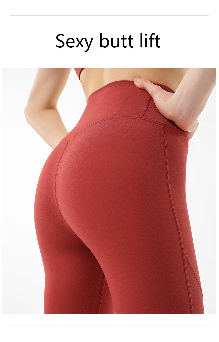 The side seam design of petite sports leggings is a common design starting point.