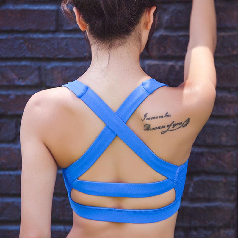 Extra high impact sports bra