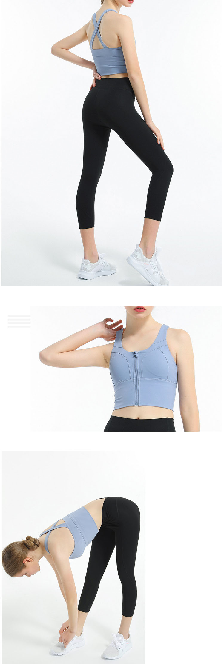 Front zip bra is becoming more fashionable