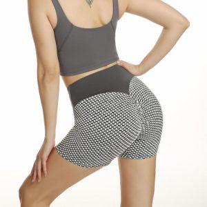 Honeycomb yoga pants
