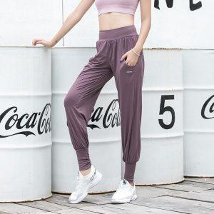Loose fit workout pants ladies