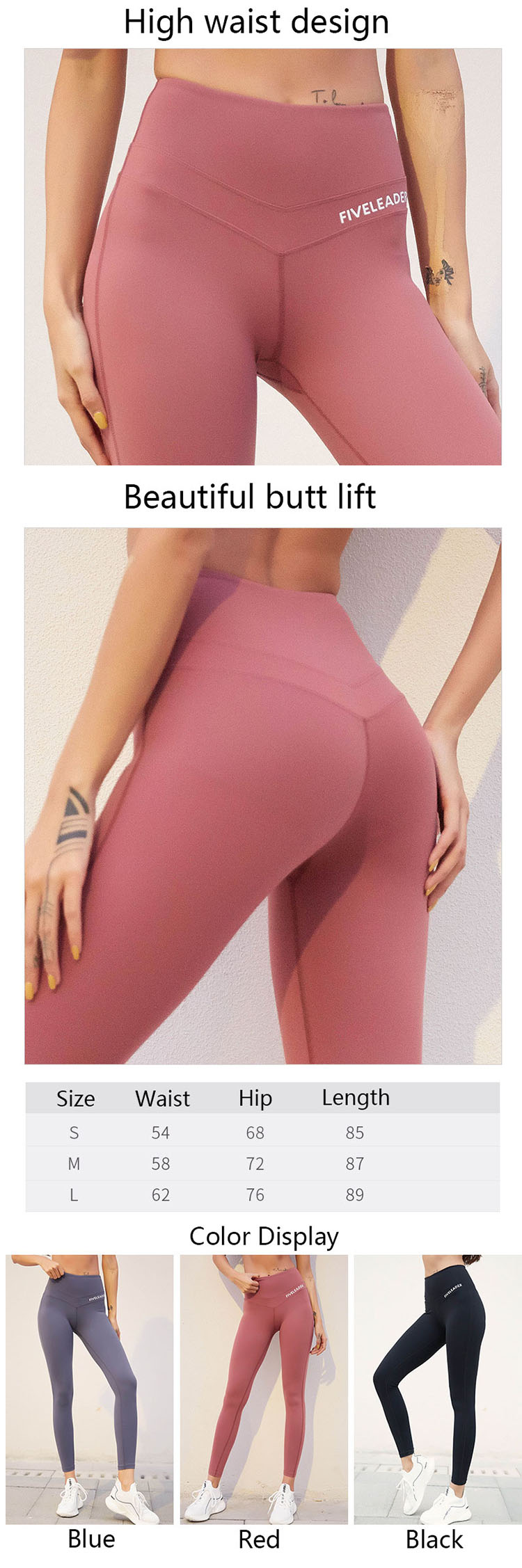 More and more people are beginning to pay attention to multi-functional items that are strong in wearability and take into account entertainment and push up gym leggings.