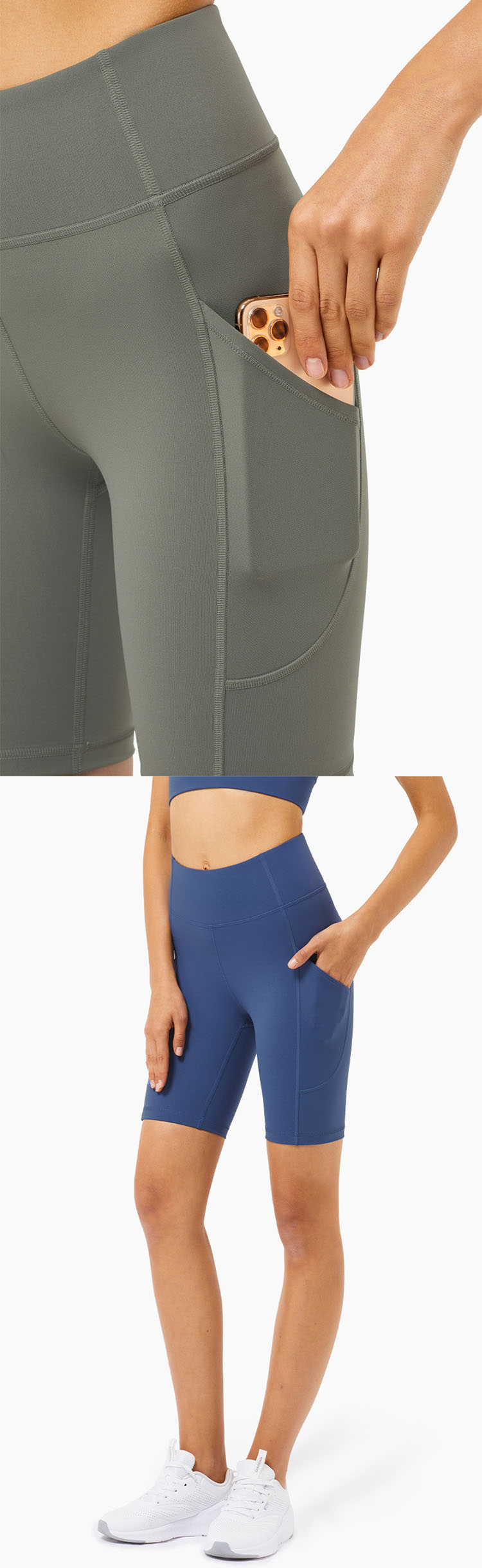 Suitable for high-intensity exercise, provide excellent support, moisture absorption and breathability.