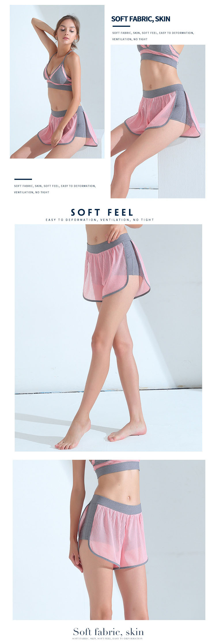 Tightly wrap the buttocks and thighs, safely protect the sports muscles, and fit comfortably.