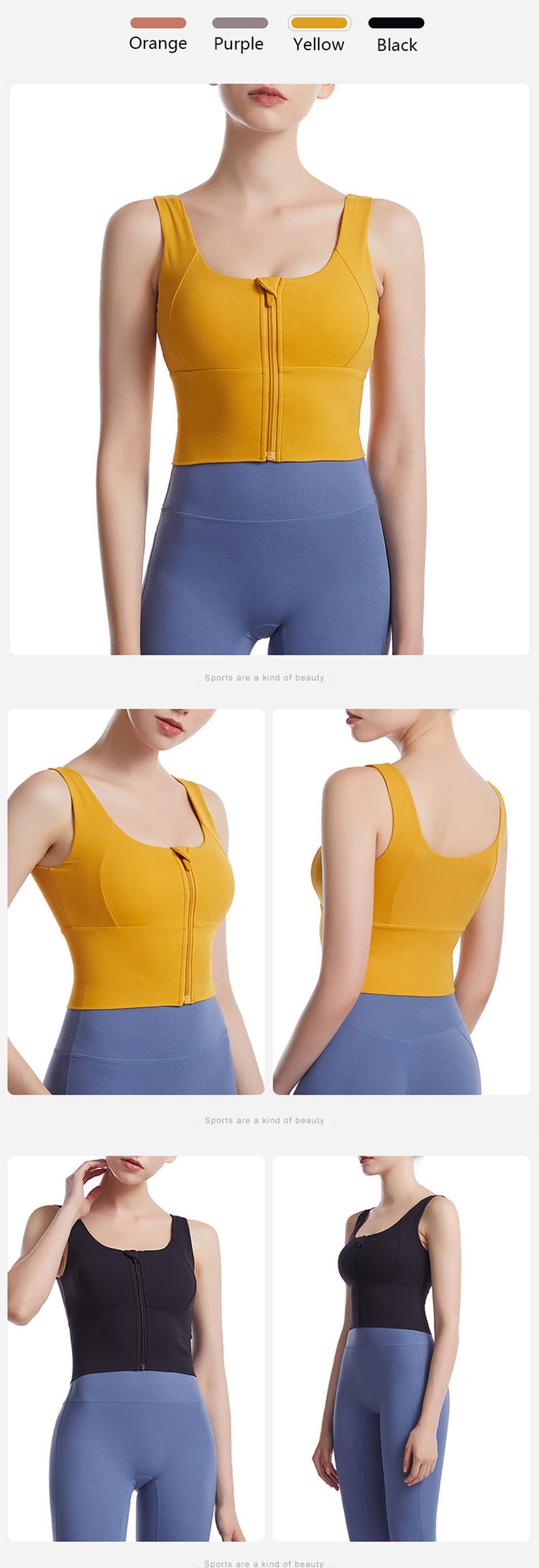 U-shaped neckline design, shaping the body, creating a sexy body.
