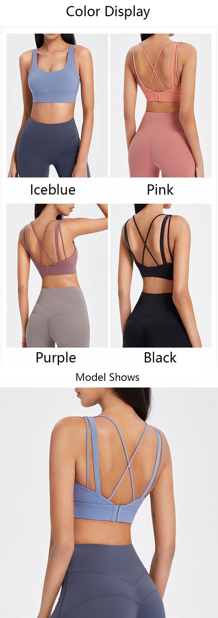 U-shaped neckline reveals the sexy collarbone, making the neck more slender.