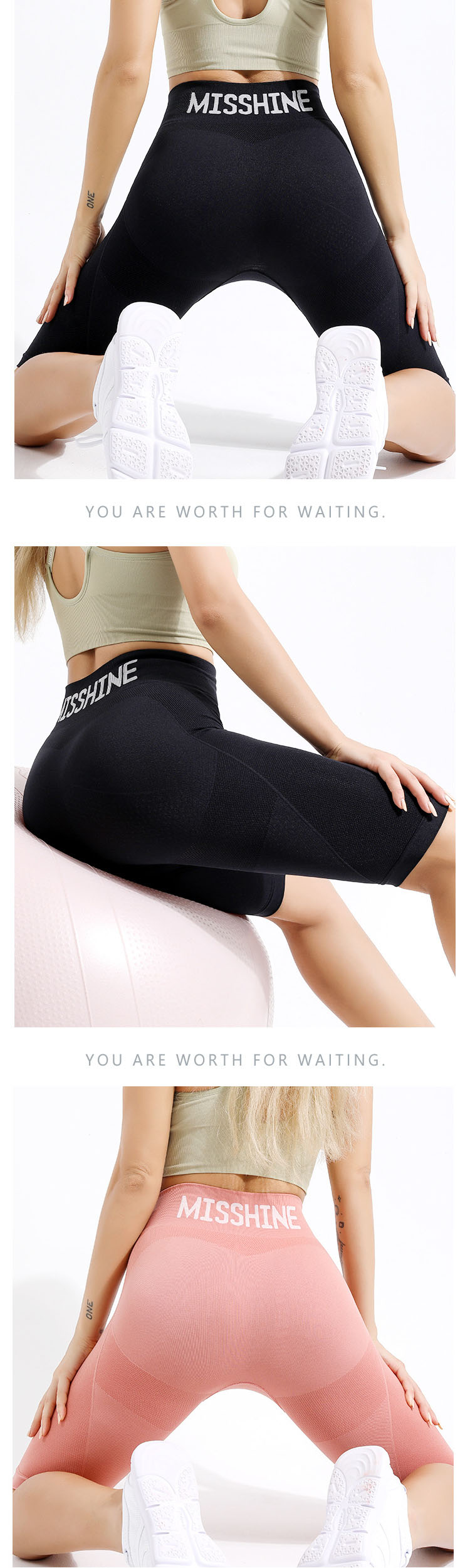 Curved hip design, so that the hip curve is more round and perfect.