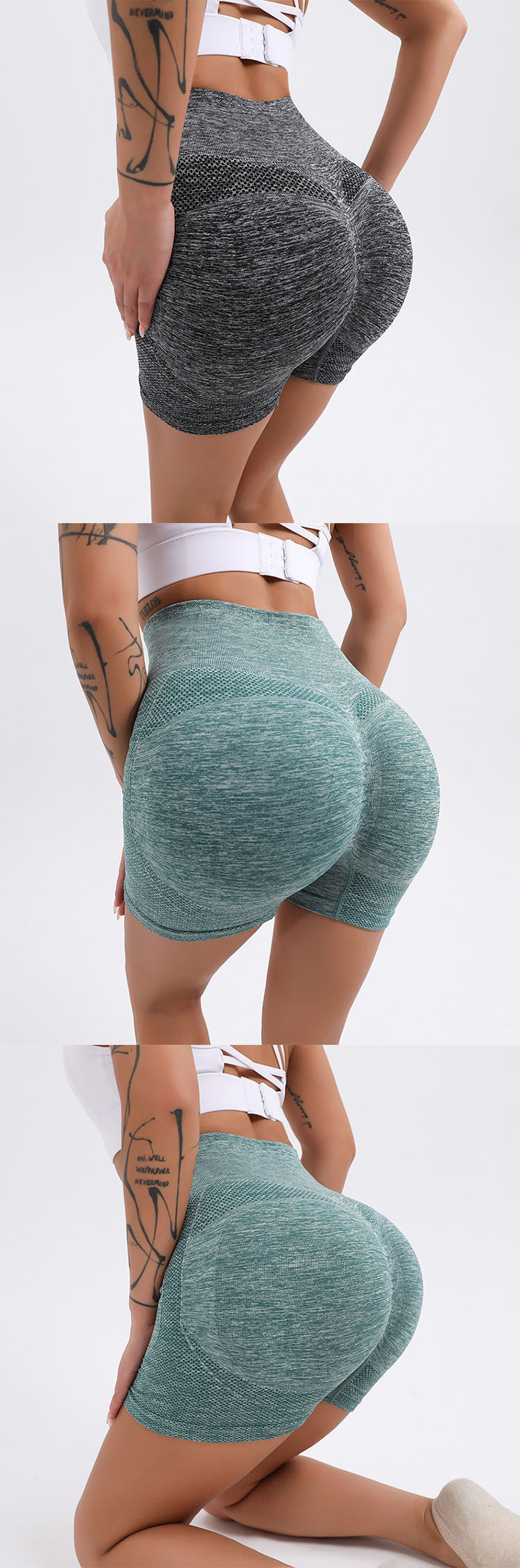 High-elastic fabric, comfortable and not tight at the waist.