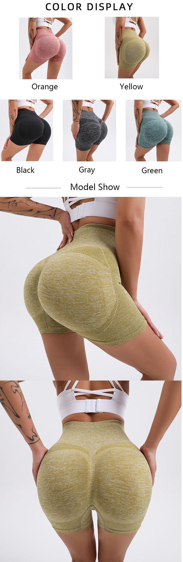 High waist design, close to the skin, tight waist.