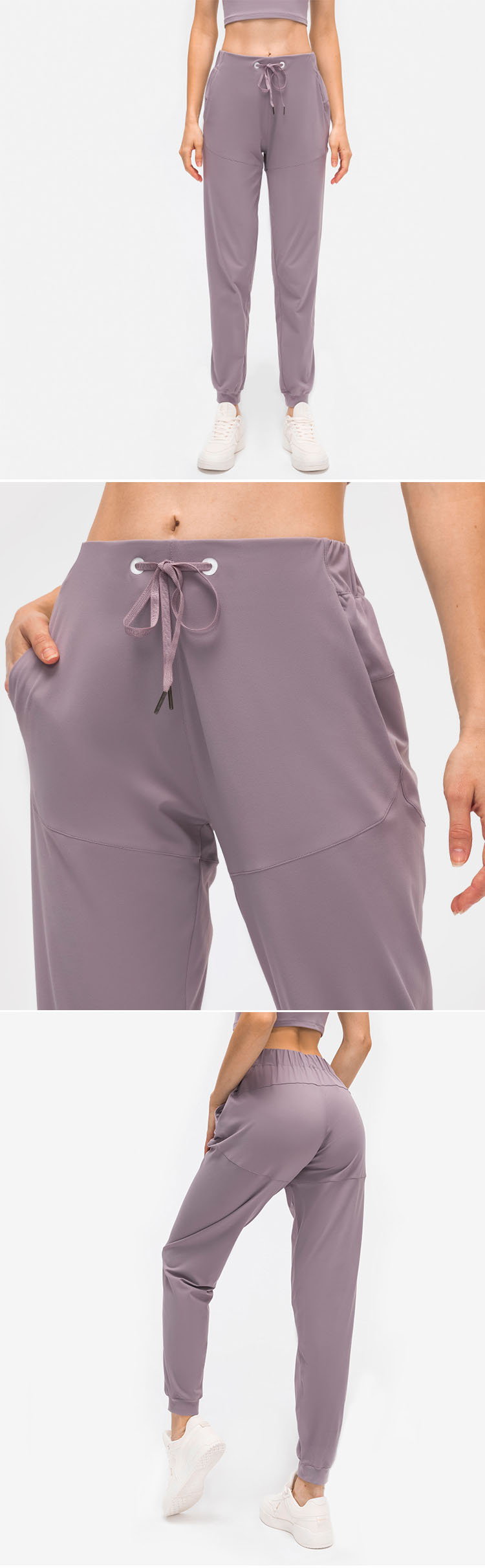 One-piece tailoring technology, showing no embarrassment line technology.