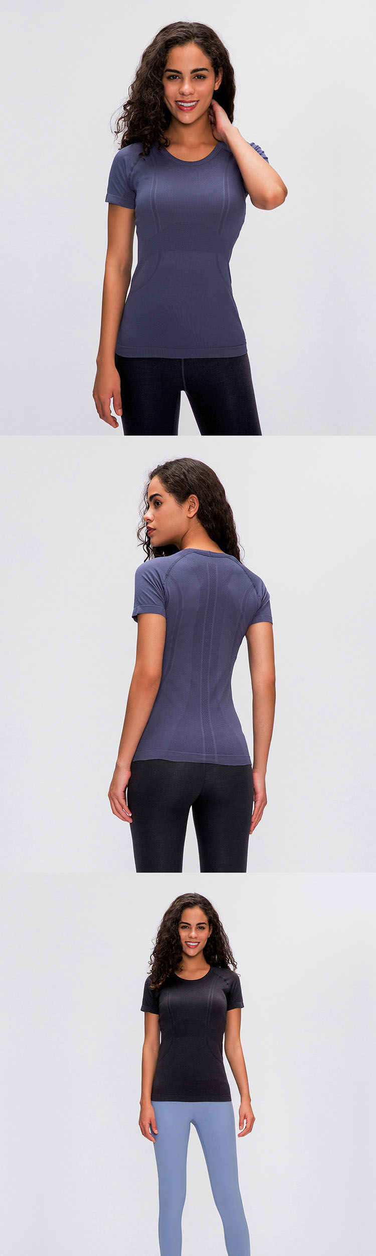 Professional sports quick-drying fabric, absorb heat and sweat, release dryness.