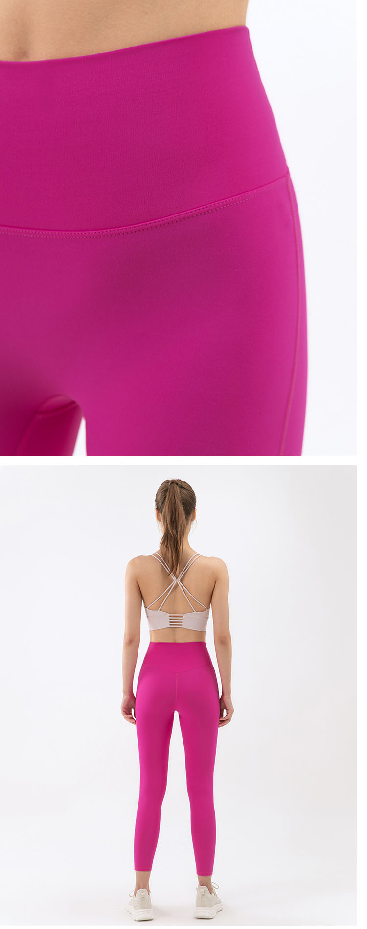 The buttocks are designed to lift up the buttocks to fit the curve of the body.