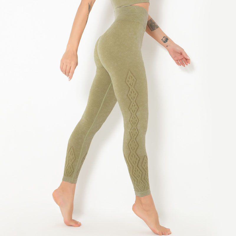 Thermal running leggings