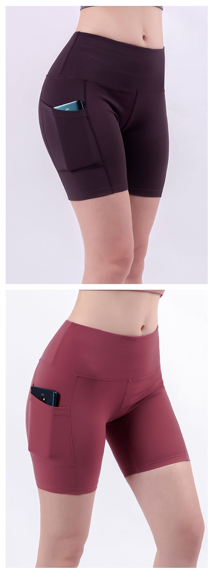 To achieve effective division of hip and leg lines, clean and neat, quick-drying, breathable and perspiration.