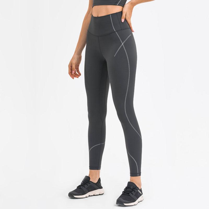 Womens black athletic leggings