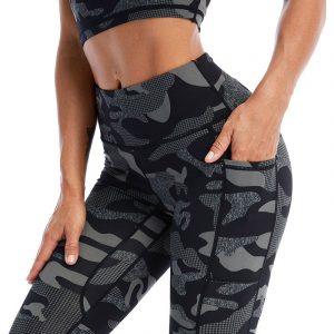 Camouflage workout leggings