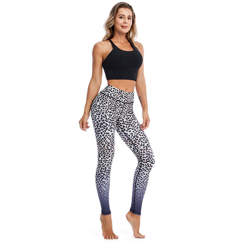 Leopard gym leggings