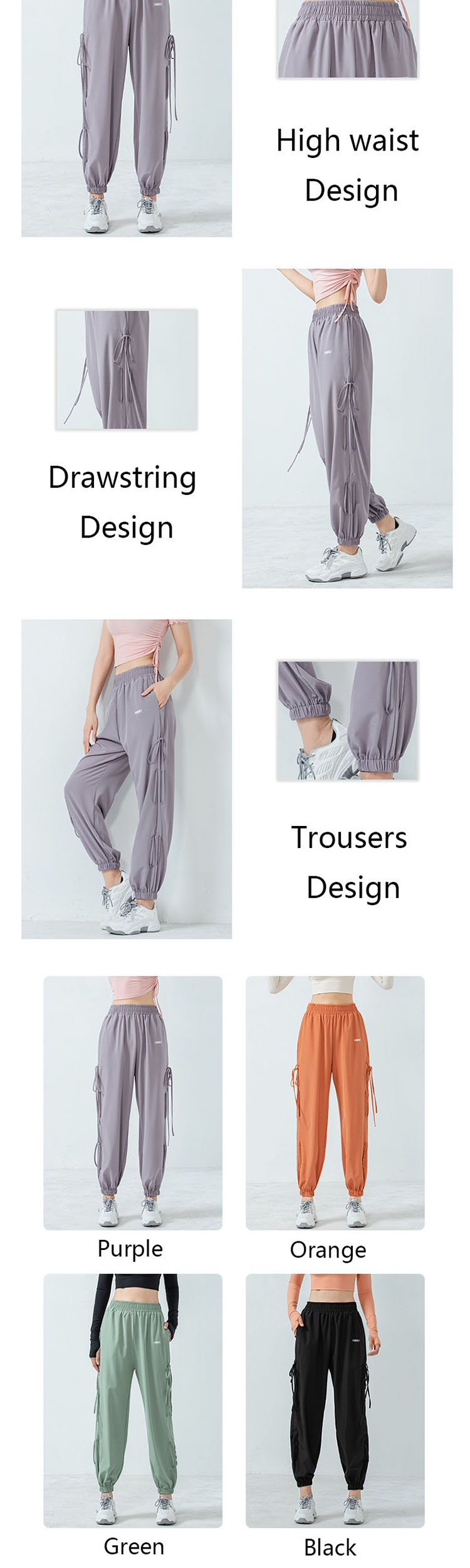 Flare yoga pants are trousers that are elegant, simple and casual