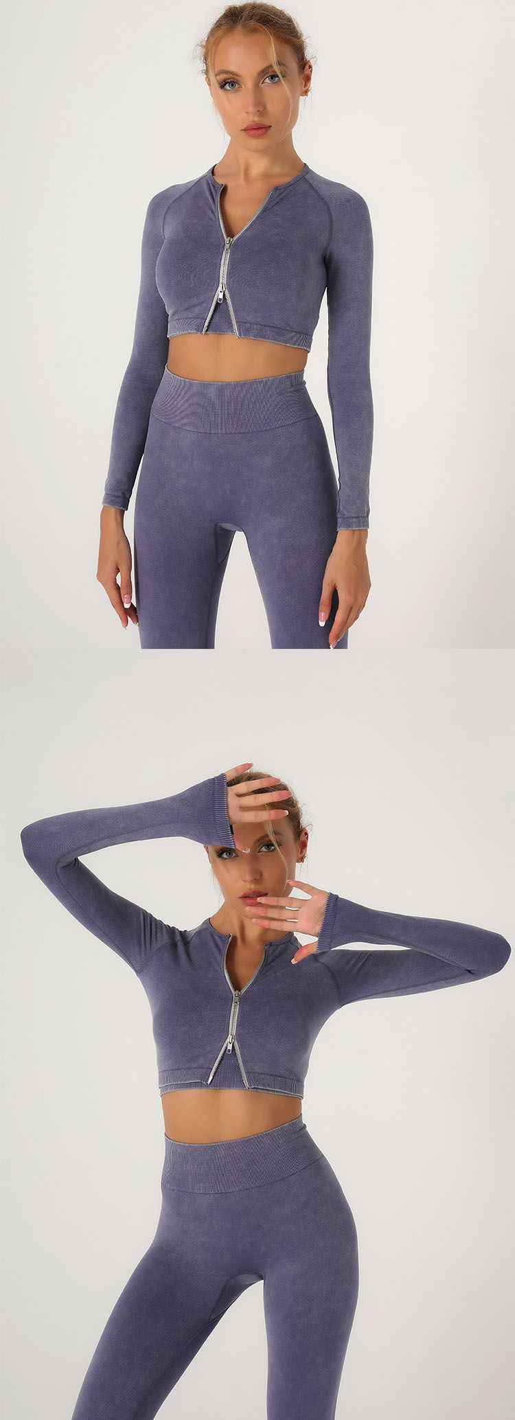 Slim tailoring design fits the body and shows the curve of the figure.