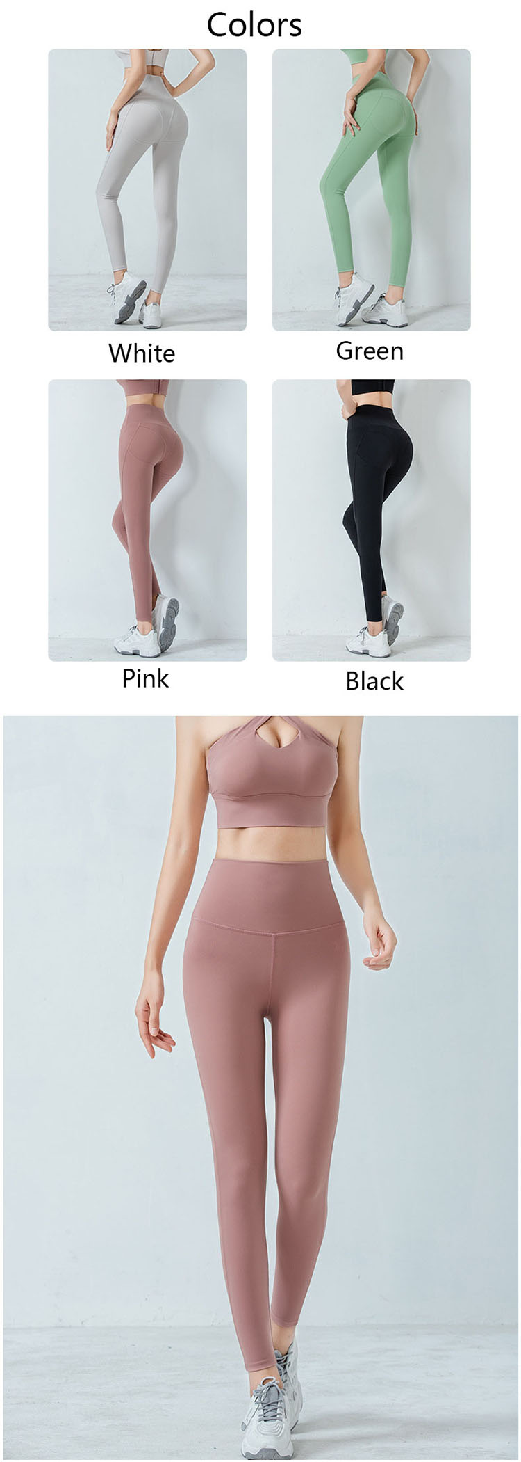 The buttocks design, outlines the perfect peach buttocks.