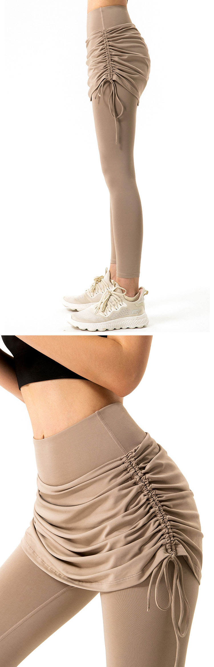 The effect of wrapping the abdomen and buttocks is obvious, increasing the comfort and improving the wearing experience.