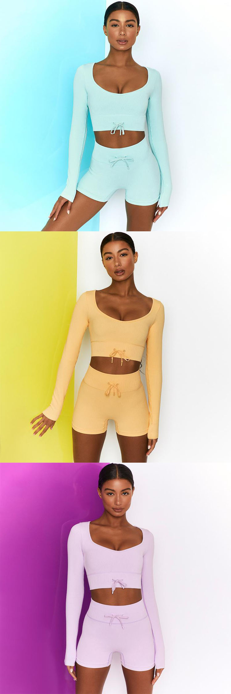 Wrap around the waist and gather the abdomen. It shows a small waist and brings you a comfortable wearing experience.Wrap around the waist and gather the abdomen. It shows a small waist and brings you a comfortable wearing experience.