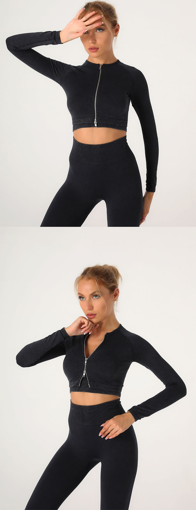 Zipper design, easy to put on and take off, the neckline can be adjusted at any time according to the temperature.