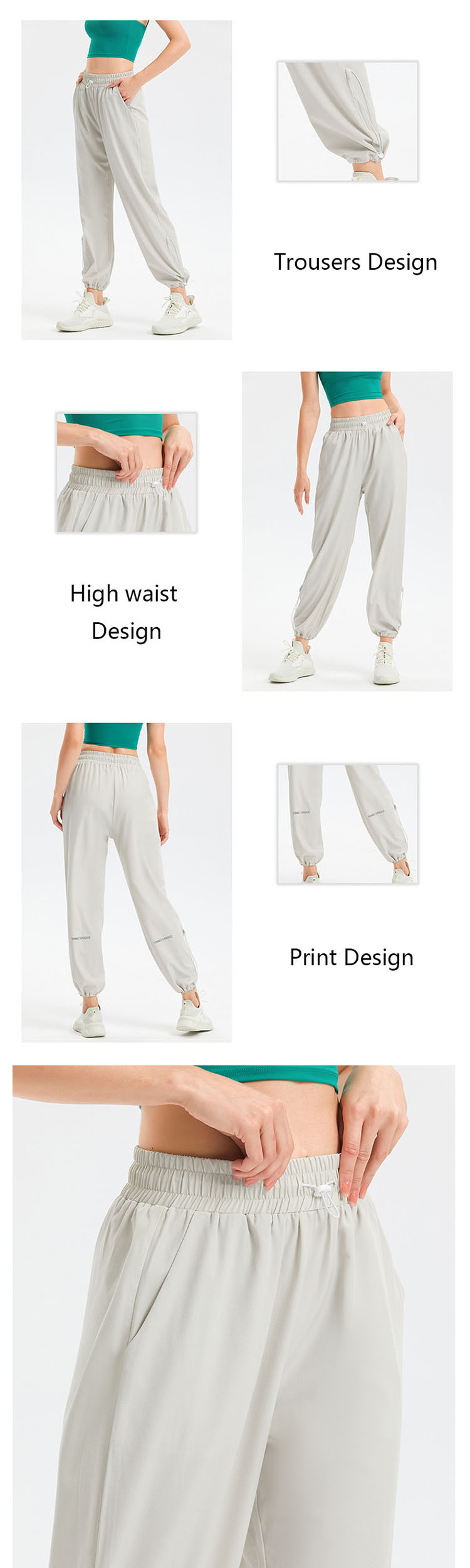 by cutting the side seams of the trousers to reduce the amount of the trouser legs.