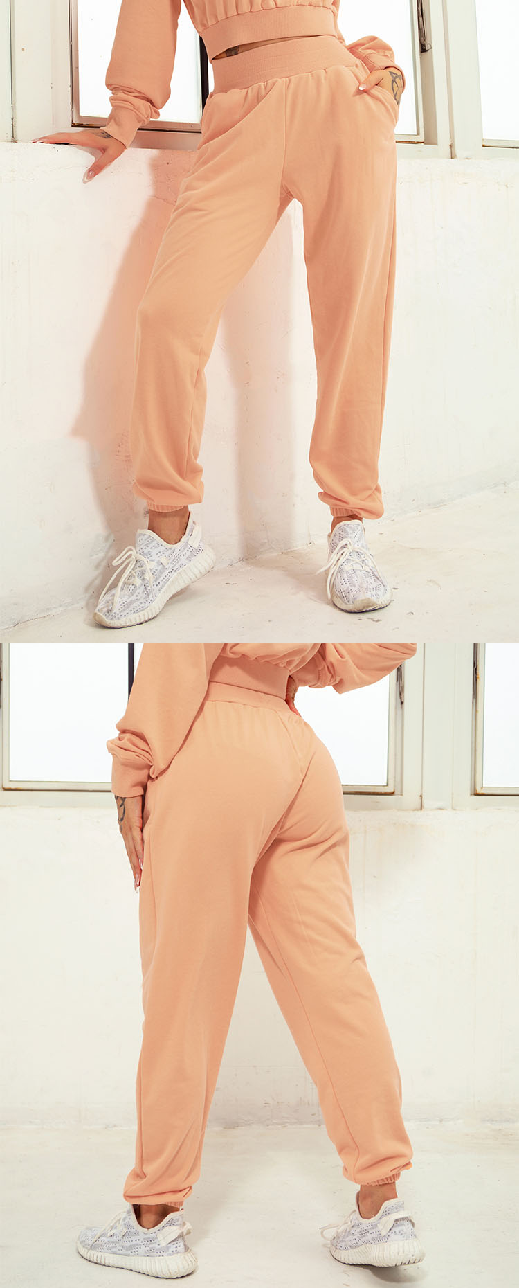 Classic trousers design, easy to wear.