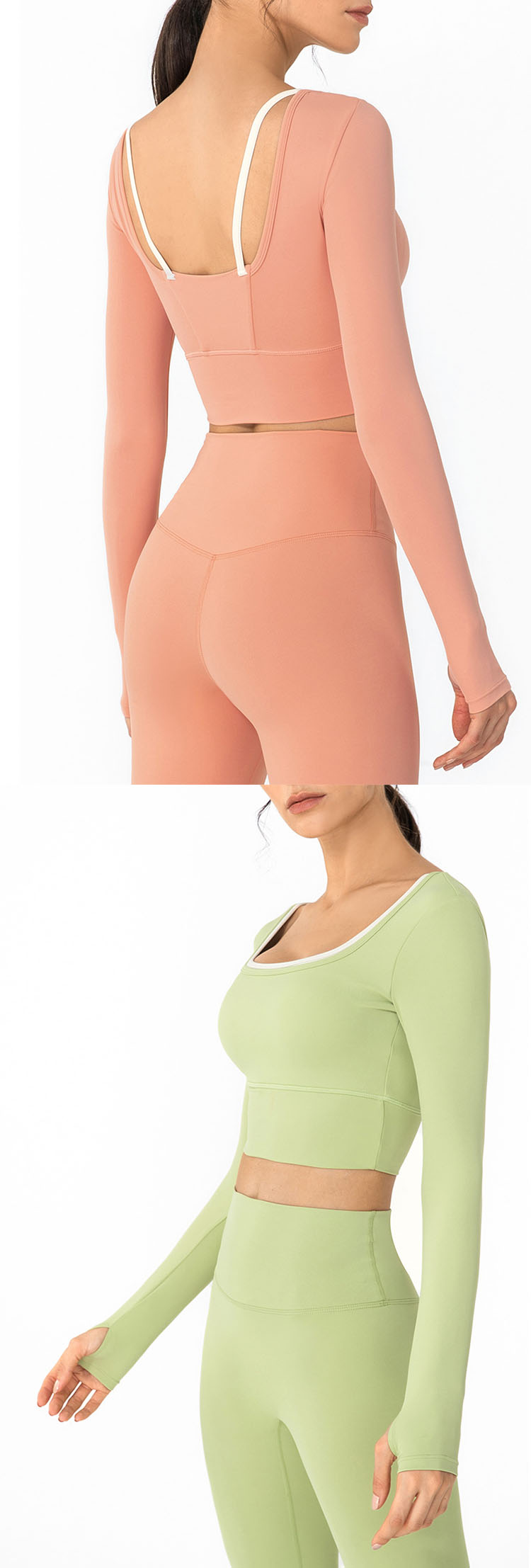 open back design, showing the body curve, casual wear for daily shopping.