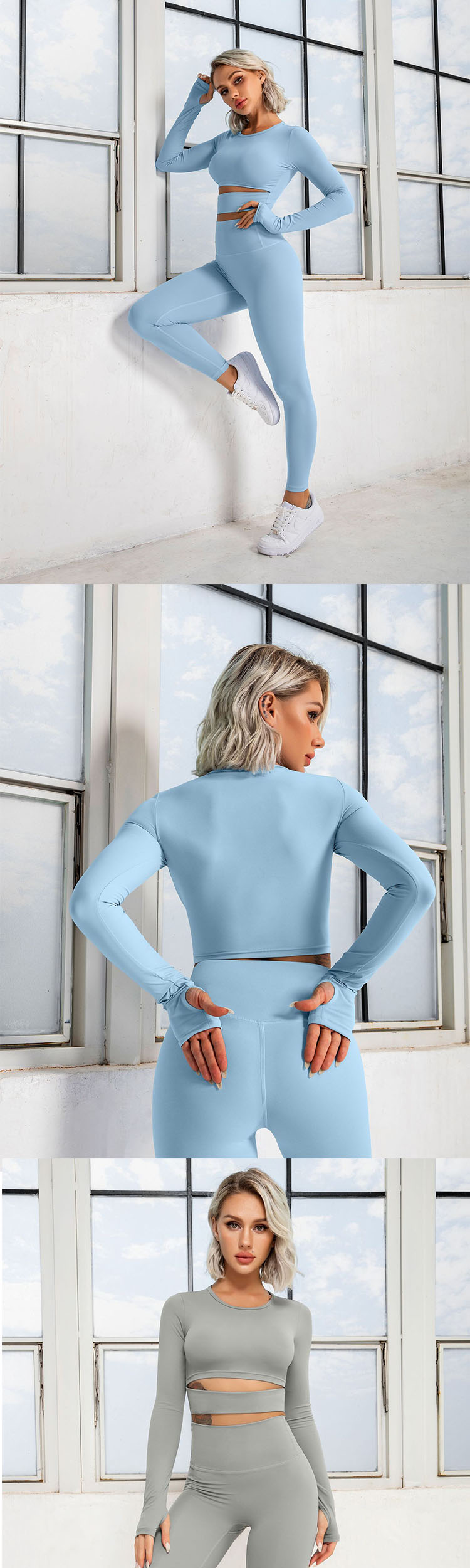 The heightened waistband design makes it comfortable to wear and fits the human skin.
