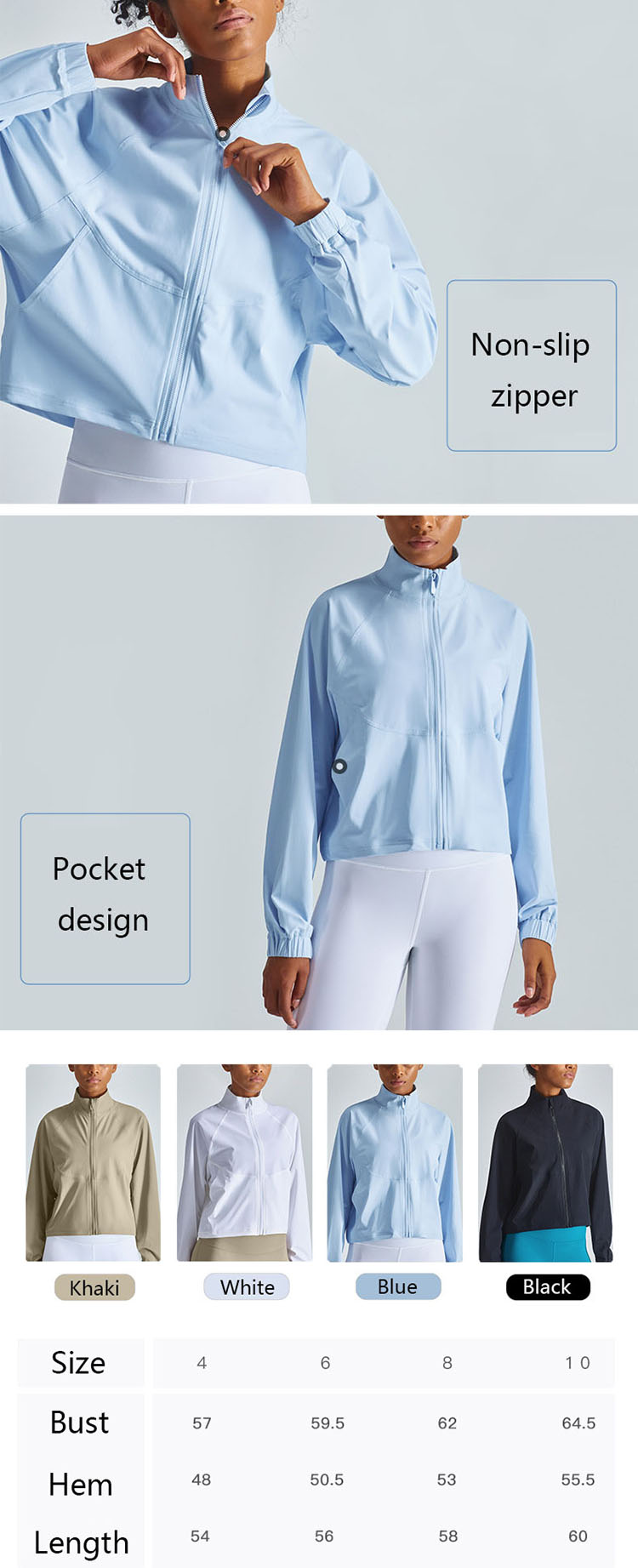 The zipper design adds functionality to long sleeve cycling top