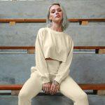 Women's long sleeve yoga tops